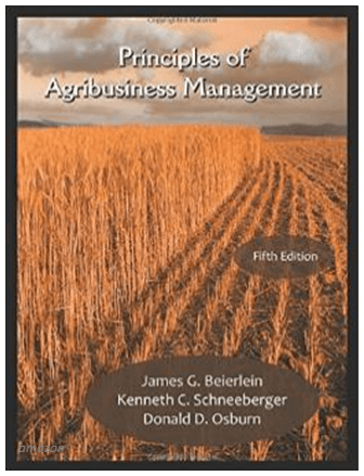 Informastion pic of Principles of Agribusiness Management 5th Edition book