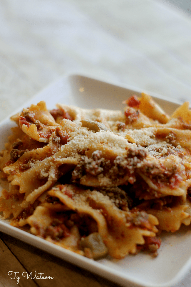 One-Pot Parmesan Pasta