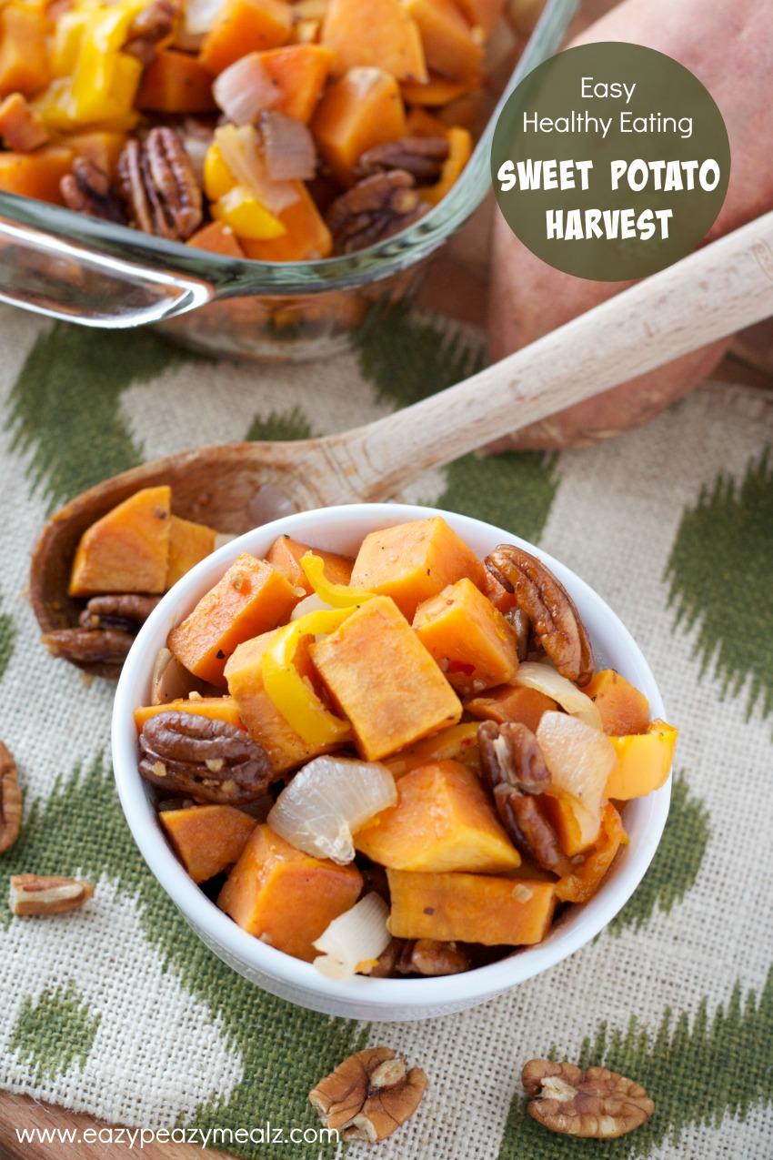 easy healthy eating sweet potato harvest recipe