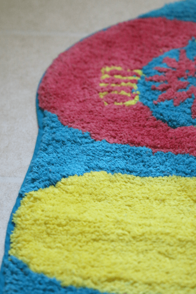 Colorful Flip Flop Rug