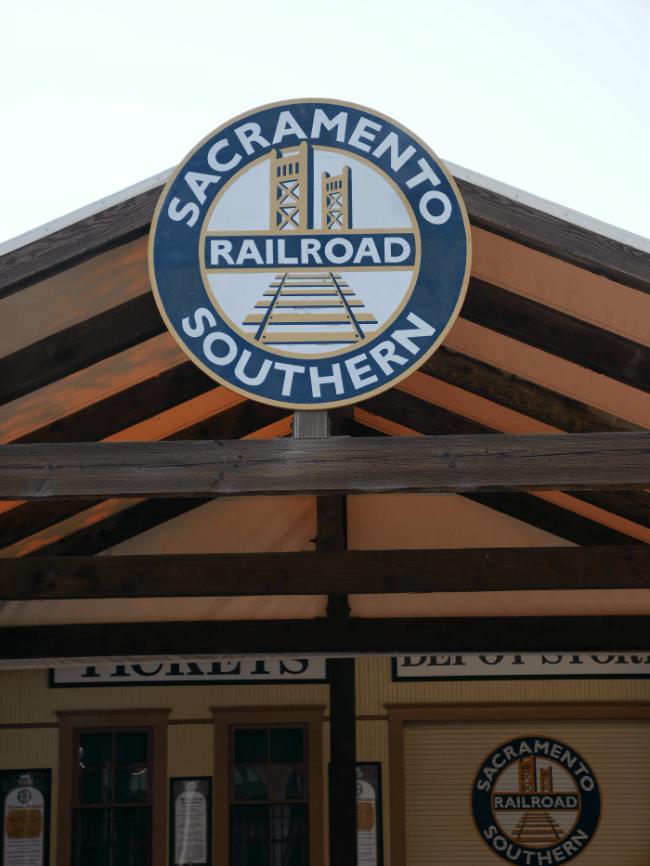 Old Sacramento Railroad Southern