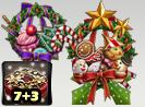 Christmas Wreath Box 7+3