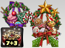 Christmas Wreath Box 7+3