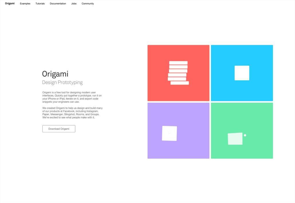 Origami | Herramientas de Prototipos
