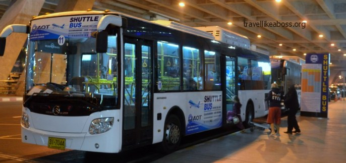 Shuttle Bus to Don Muaeng Airport