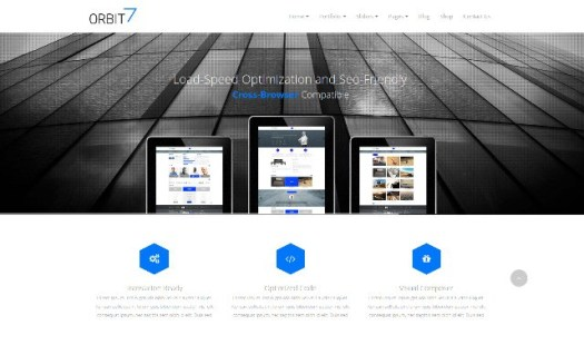 Orbit-7-The-ultimate-WordPress-theme-drag-and-drop