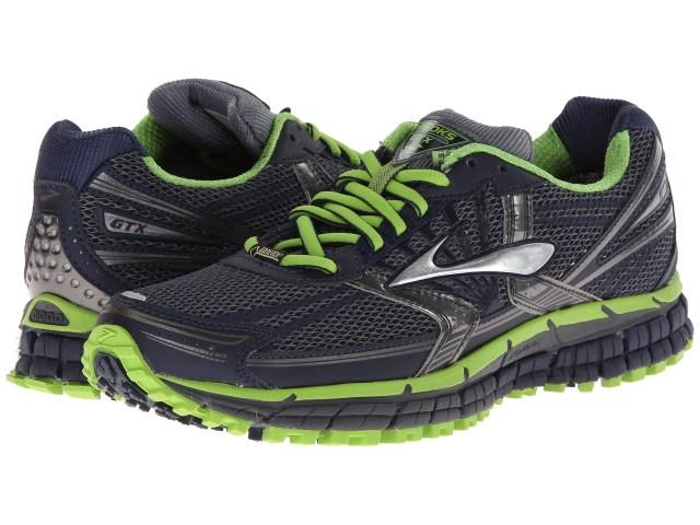 Brooks Adrenaline ASR 11 GTX Top 10 Best Waterproof Trail Running Shoes