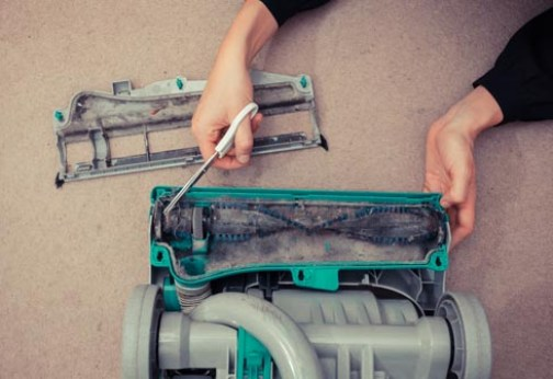 Do it yourself: Fixing a Broken Vacuum
