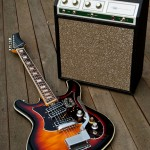 Silvertone 1445 Guitar and 1421 Tube Amp