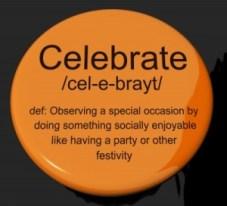 Celebrate Definition Button by Stuart Miles at Freedigitalphotos.net