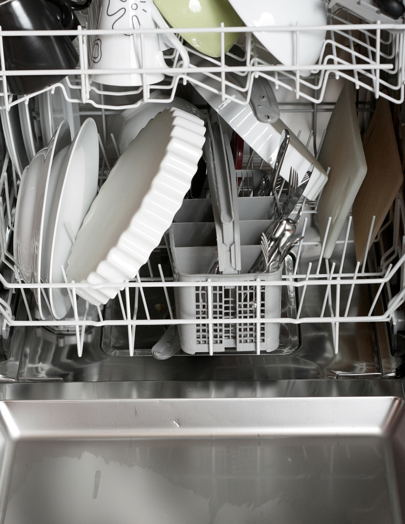 Dishwasher And Dishes