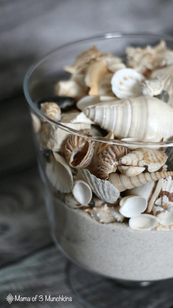 DIY Seashell Trifle