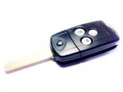 Honda бланк ключ выкидной 3 кнопки