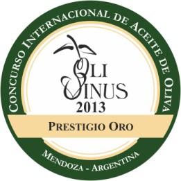 OLIVINUS 2013 - Prestigio Oro - AOVE lasolana2