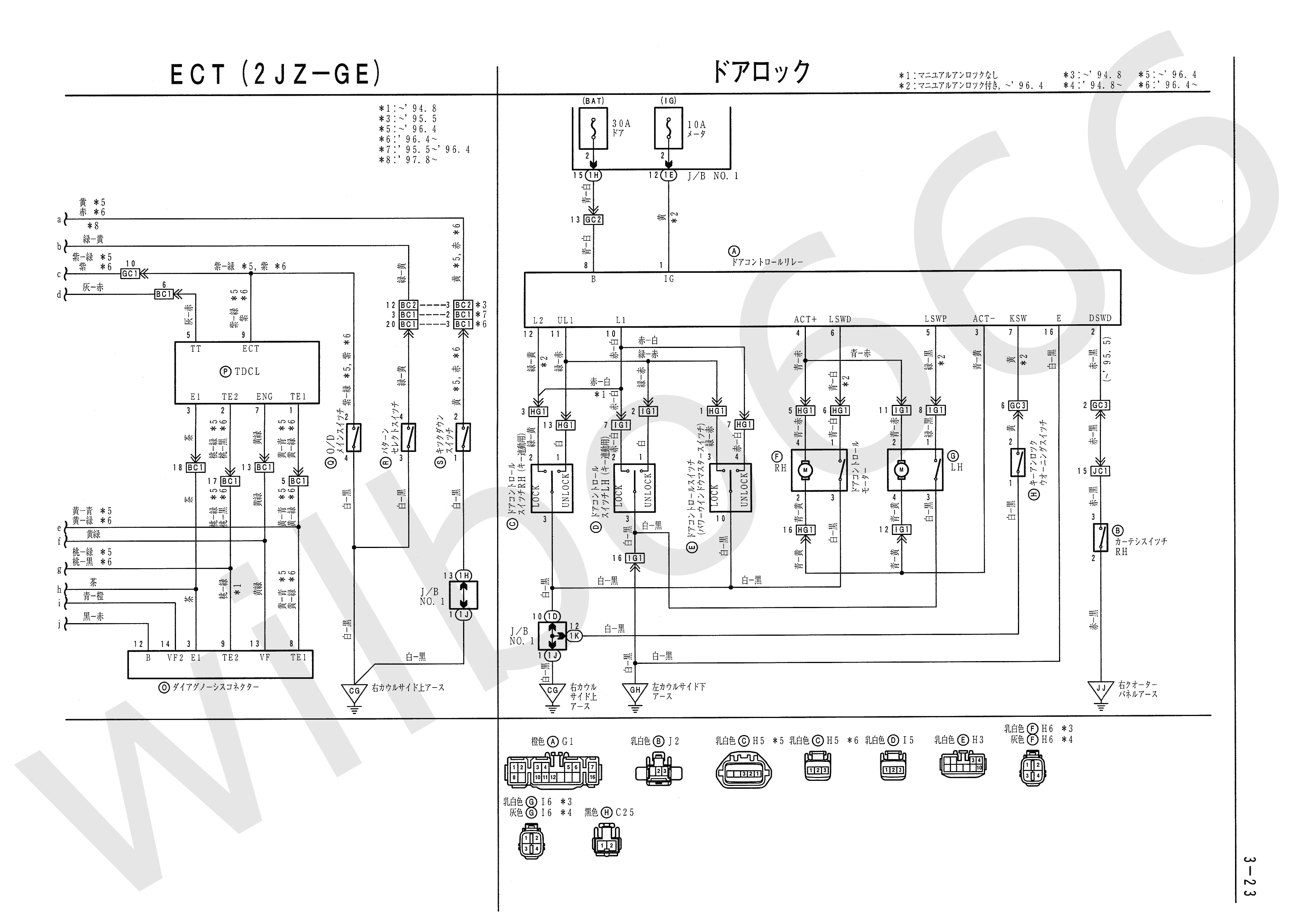 2jz Ge To Jza80 Engine Wiring Shoarmateam Igt G23 Diagram Toyota Supra Diagrams
