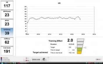Rendimiento Deportivo - Training Monitor