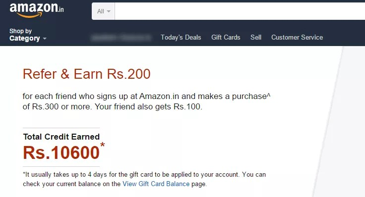 Image result for amazon.in refer and earn trick