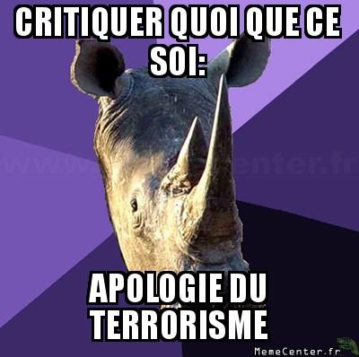 sexually-oblivious-rhino-critiquer-quoi-que-ce-soi-apologie-du-terrorisme