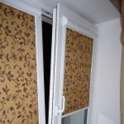 Кассетно-рулонные шторы