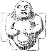Another child being mistreated by a demon, from Mysterium Baphometis Revelatum.