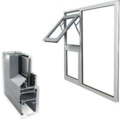 advance fenestration, crealco casement 30.5 aluminium windows product image
