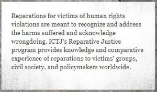 What Are Reparations? 7