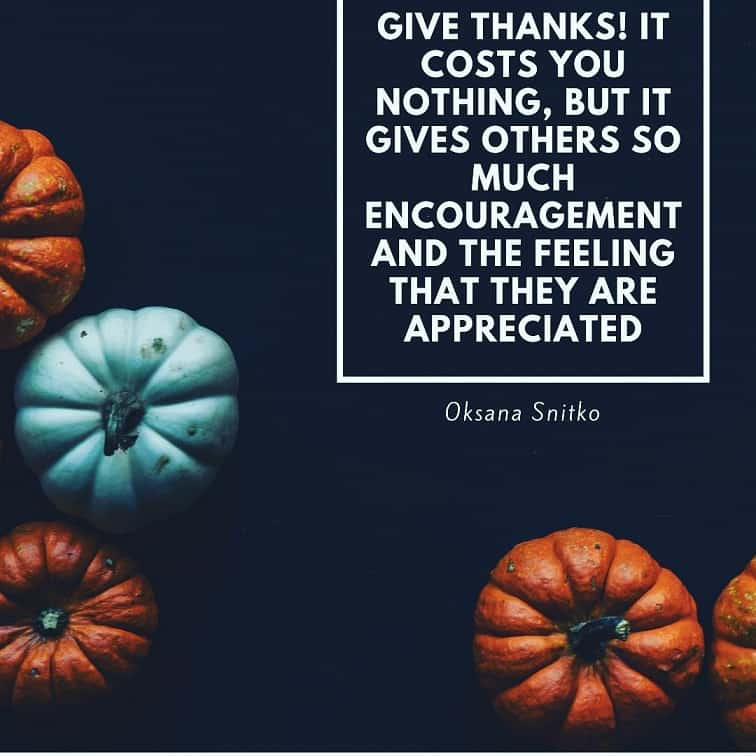 thanksgiving blessing quotes