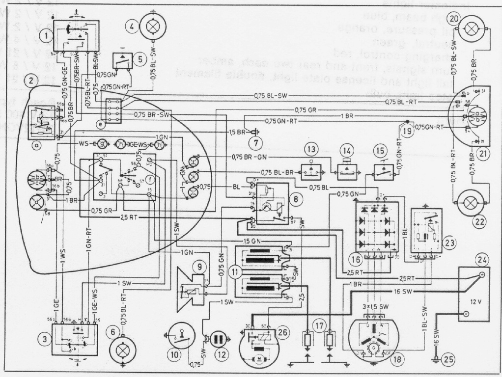 Bmw R65 Fuse Box : Electrical ladder diagram standards wiring and
