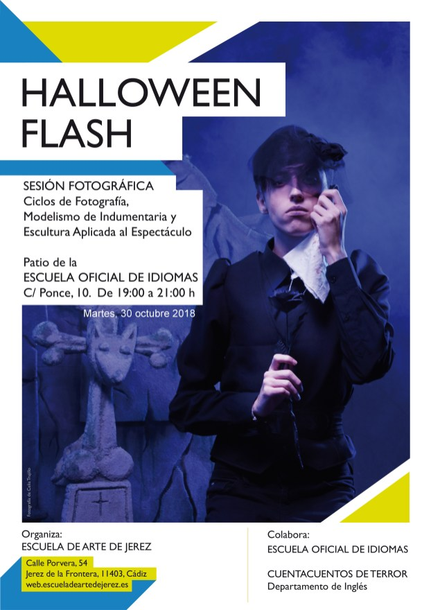 eajerez - cartel Halloween Flash 2018