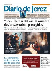 Halloween Flash en el diario de Jerez