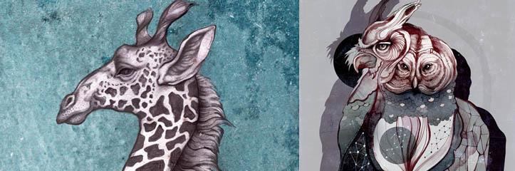 Sara Blakeによる審美的に美しいイラスト