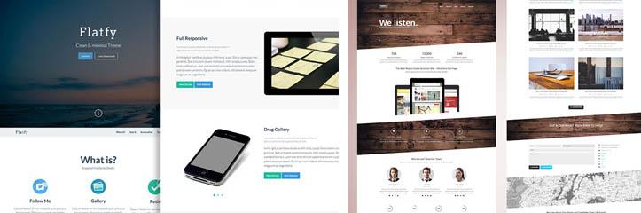 素晴らしいデザインの20の絶対に無料のHTMLテンプレート