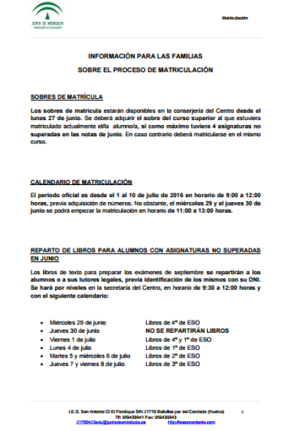 informacion-matriculacion-familias