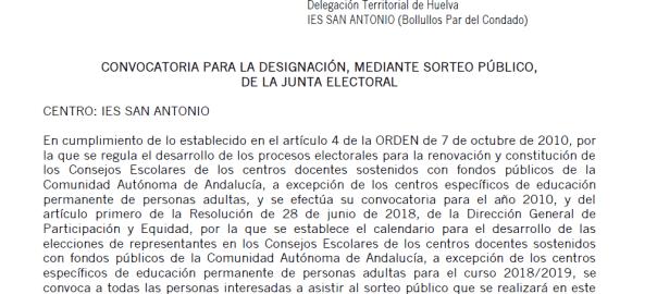Convocatoria-sorteo-Junta-Electoral