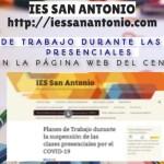 IES San Antonio - Bollullos - Planes Trabajo Clases No Presenciales - COVID-19