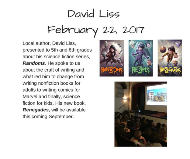 David Liss (1)