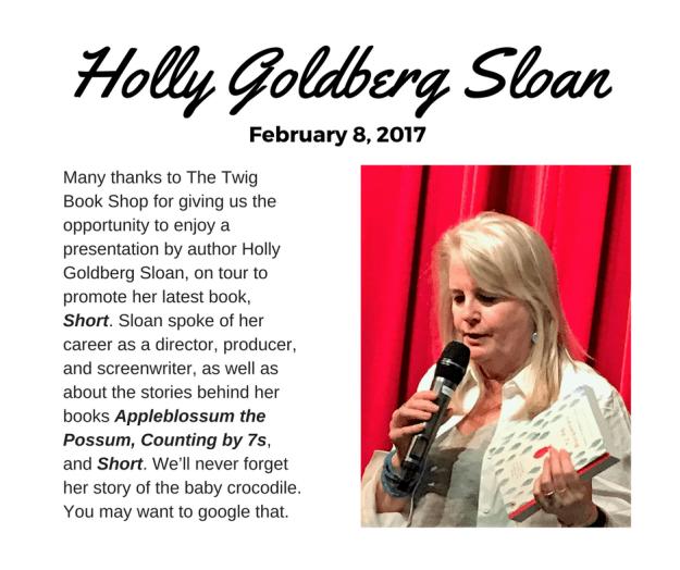 Holly Goldberg Sloan