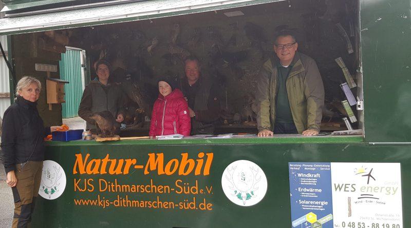 Frühjahrsputz am Natur Mobil