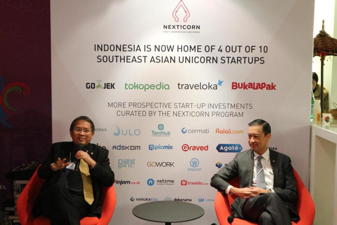 kominfo thomas lembong rudiantara dinner 2 - Indonesia Bersiap Mendapat Manfaat Ekonomi Digital