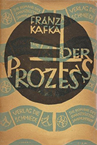 'The Trial' by Franz Kafka book cover
