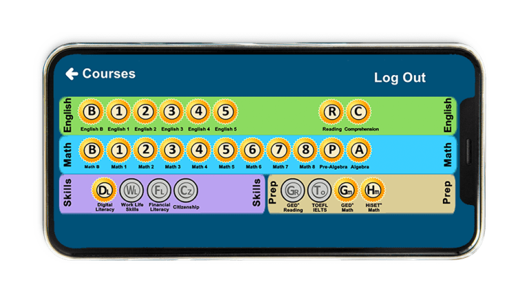 Learning Upgrade ESL Solution Smartphone Courses