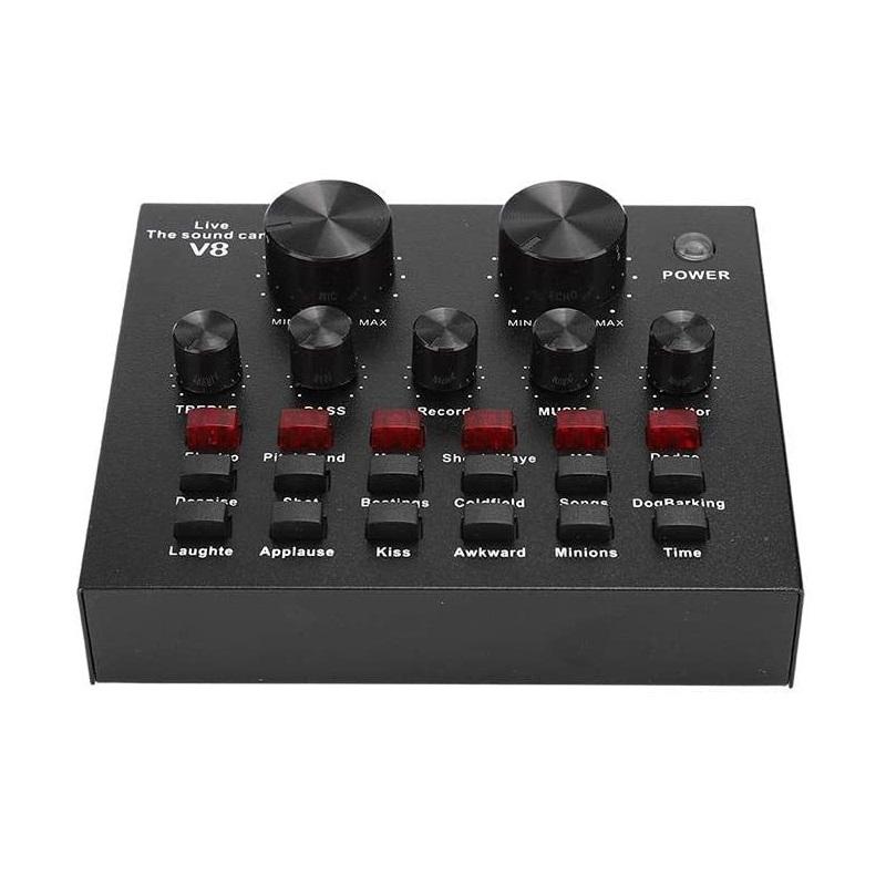 Dpofirs Live V8-Soundkarte