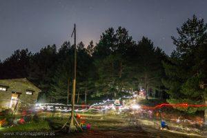 90 segons de Campament