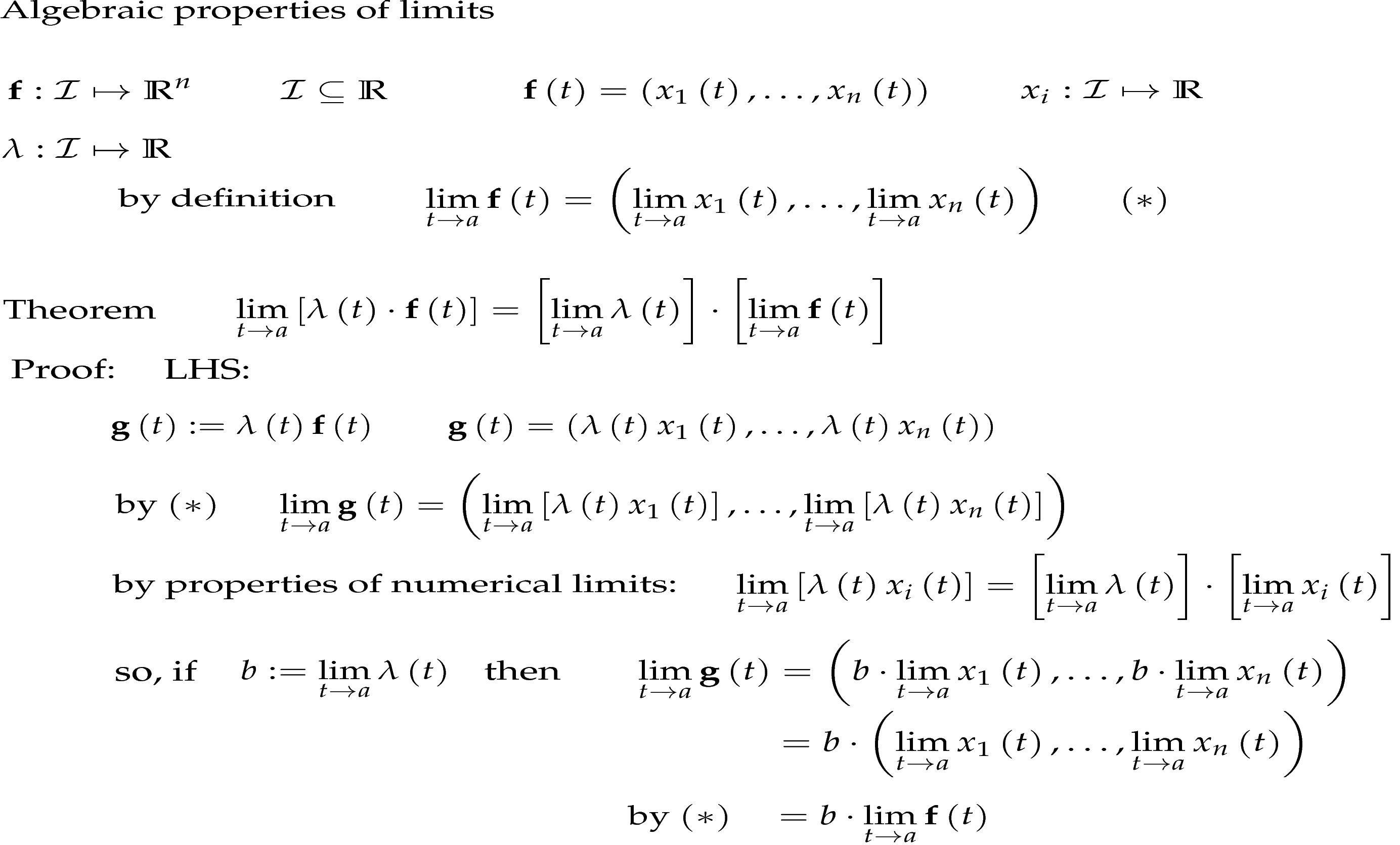 Math Higher Several Variable Calculus Simple Approach
