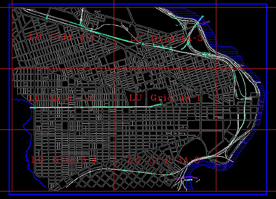 City Planning Commision Land Use Grid