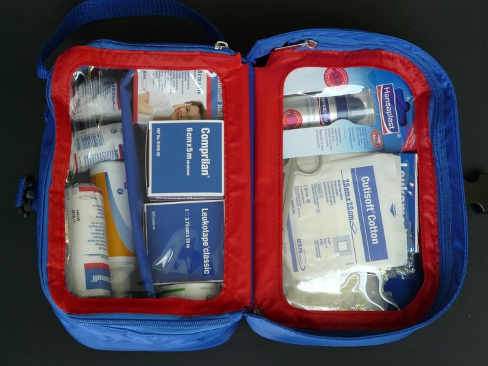 Include a first aid kit on your holiday preparation checklist