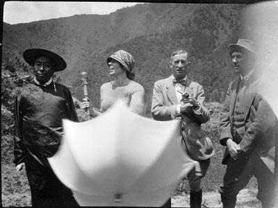 Le lieutenant-colonel Frederick Marsham Bailey (1882-1967) © The Tibet Album