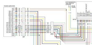 audio system wiring schematicdiagram  GL1800Riders