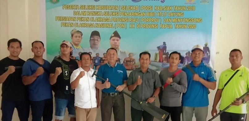 PODSI Kabupaten Siak Gelar Seleksi Atlit Dayung