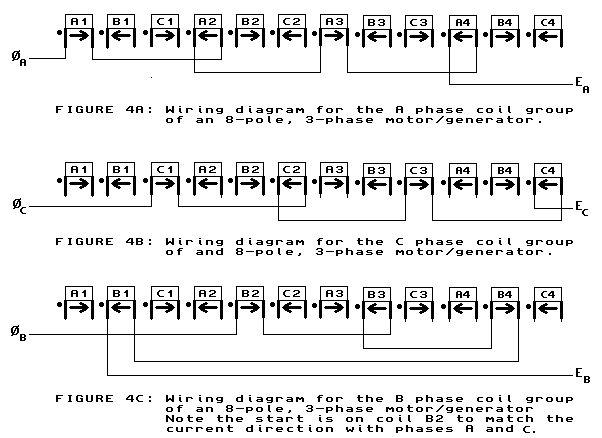 3 Phase Hydro Generator Wiring Diagram : Volt phase lead wiring diagram motor